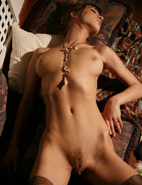 Anya has a sweet toned body with medium bouncy breasts and a little dash for a bush. - Anya D - Teklanis